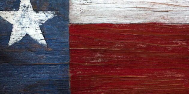 Texas flagga